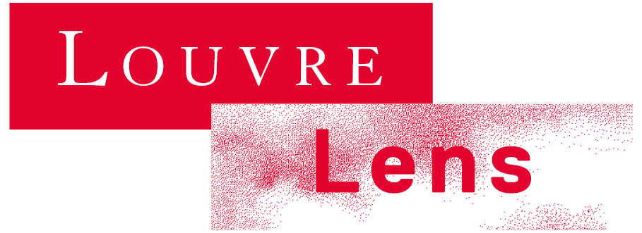 Logo Louvre Lens en version rouge amour